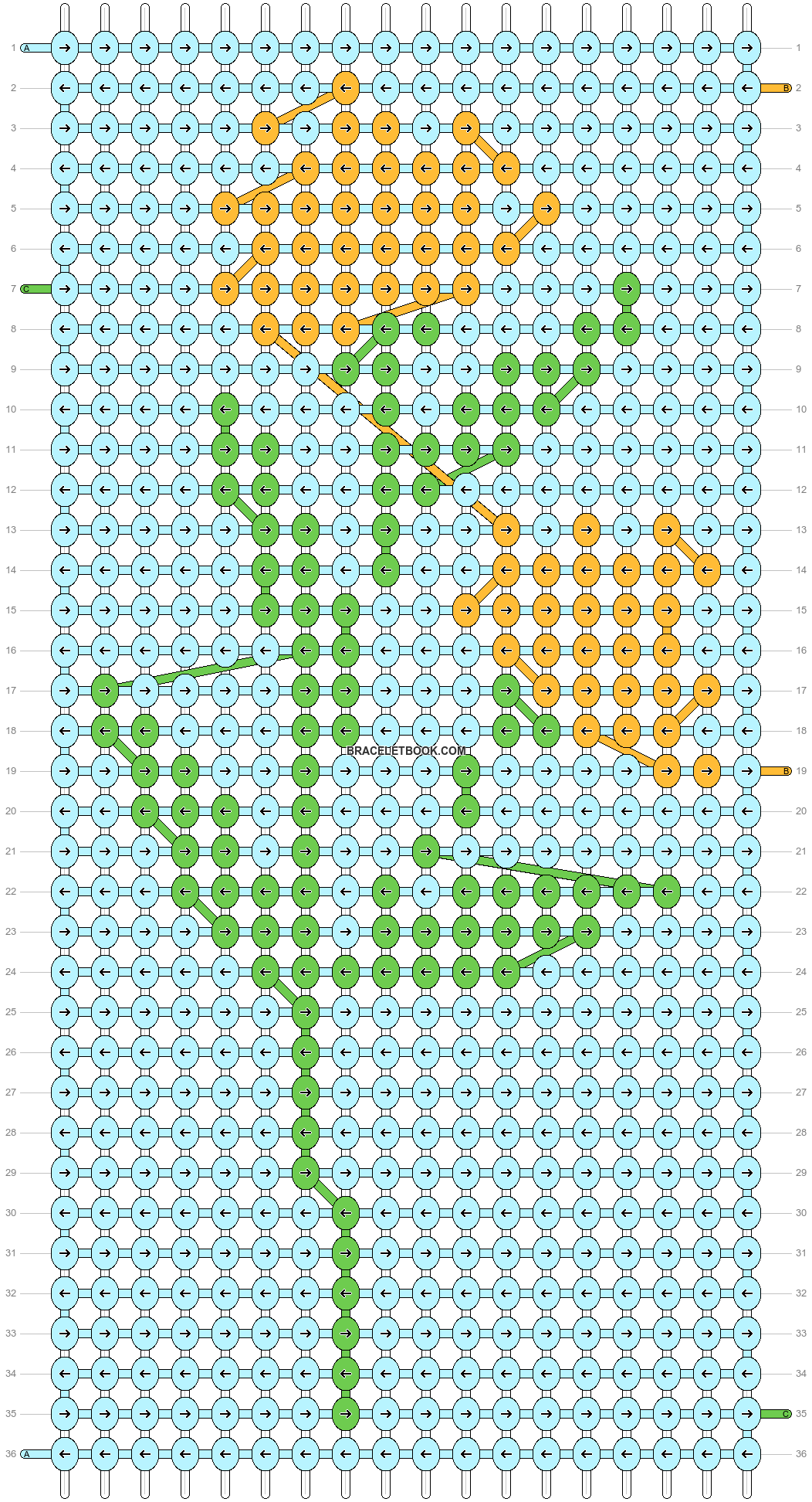 Alpha pattern #87767 pattern