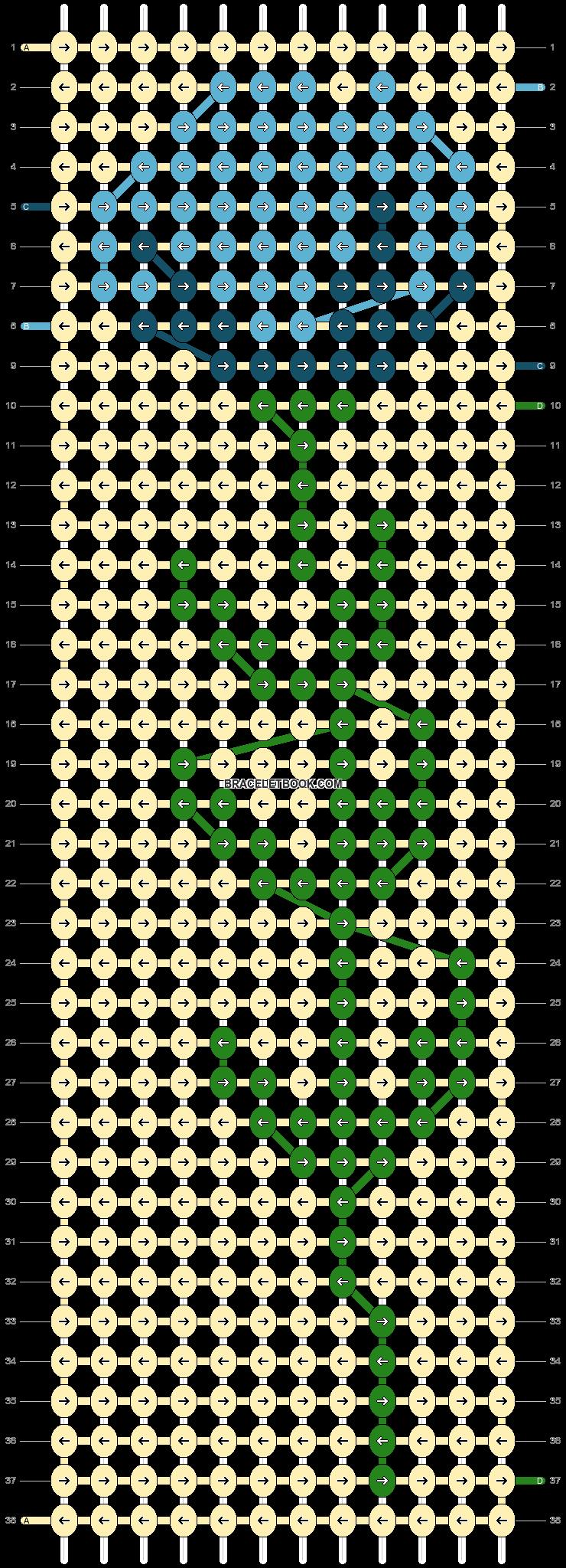 Alpha pattern #87770 pattern