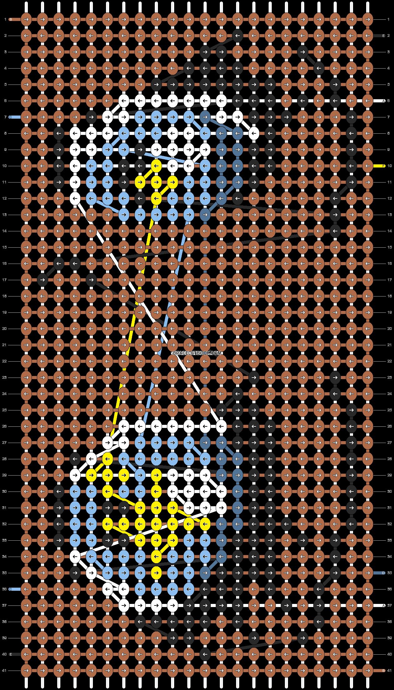 Alpha pattern #87800 pattern