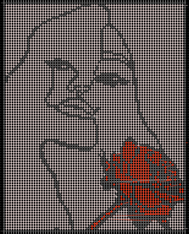 Alpha pattern #87812 pattern