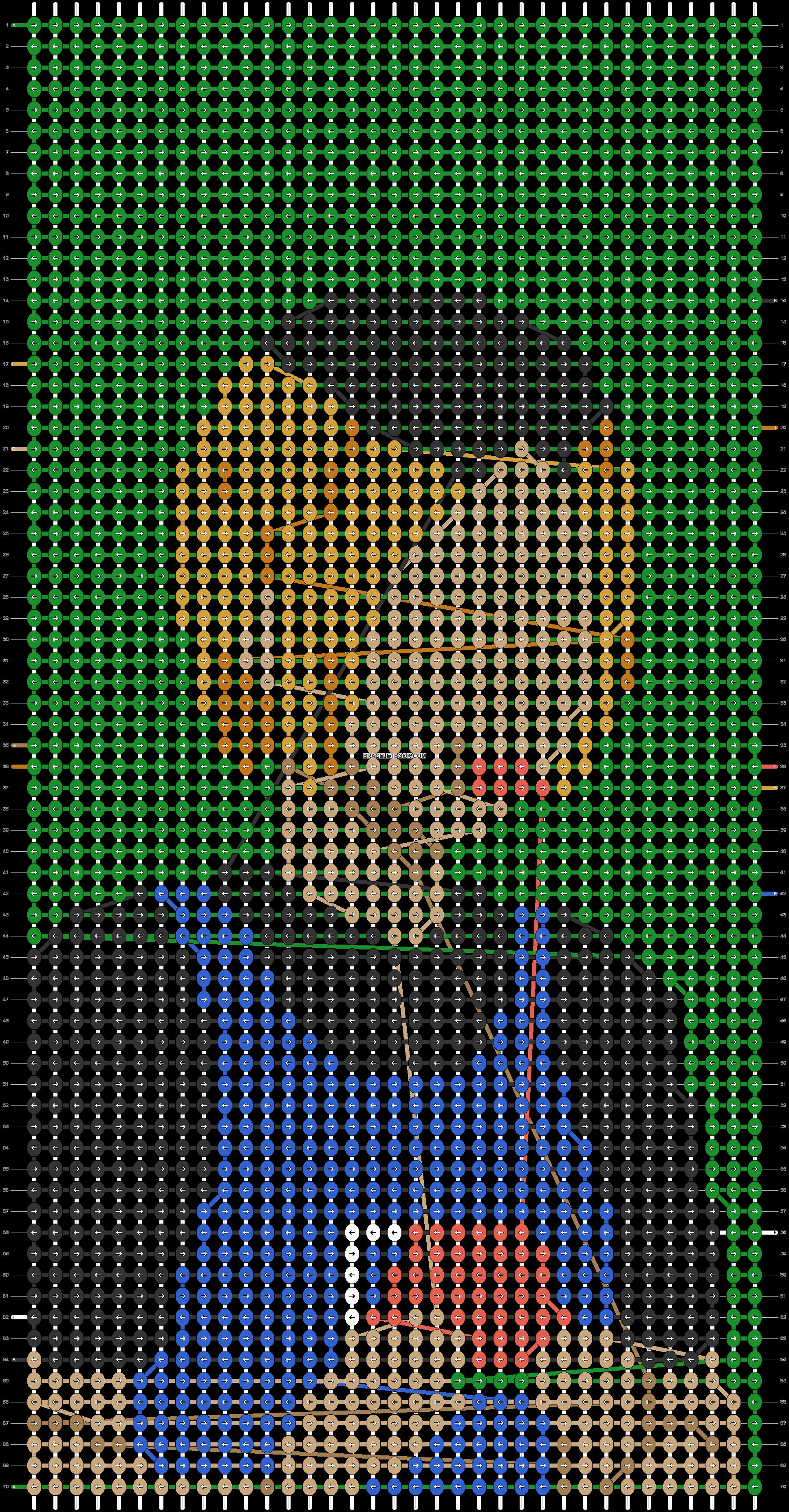 Alpha pattern #87815 pattern