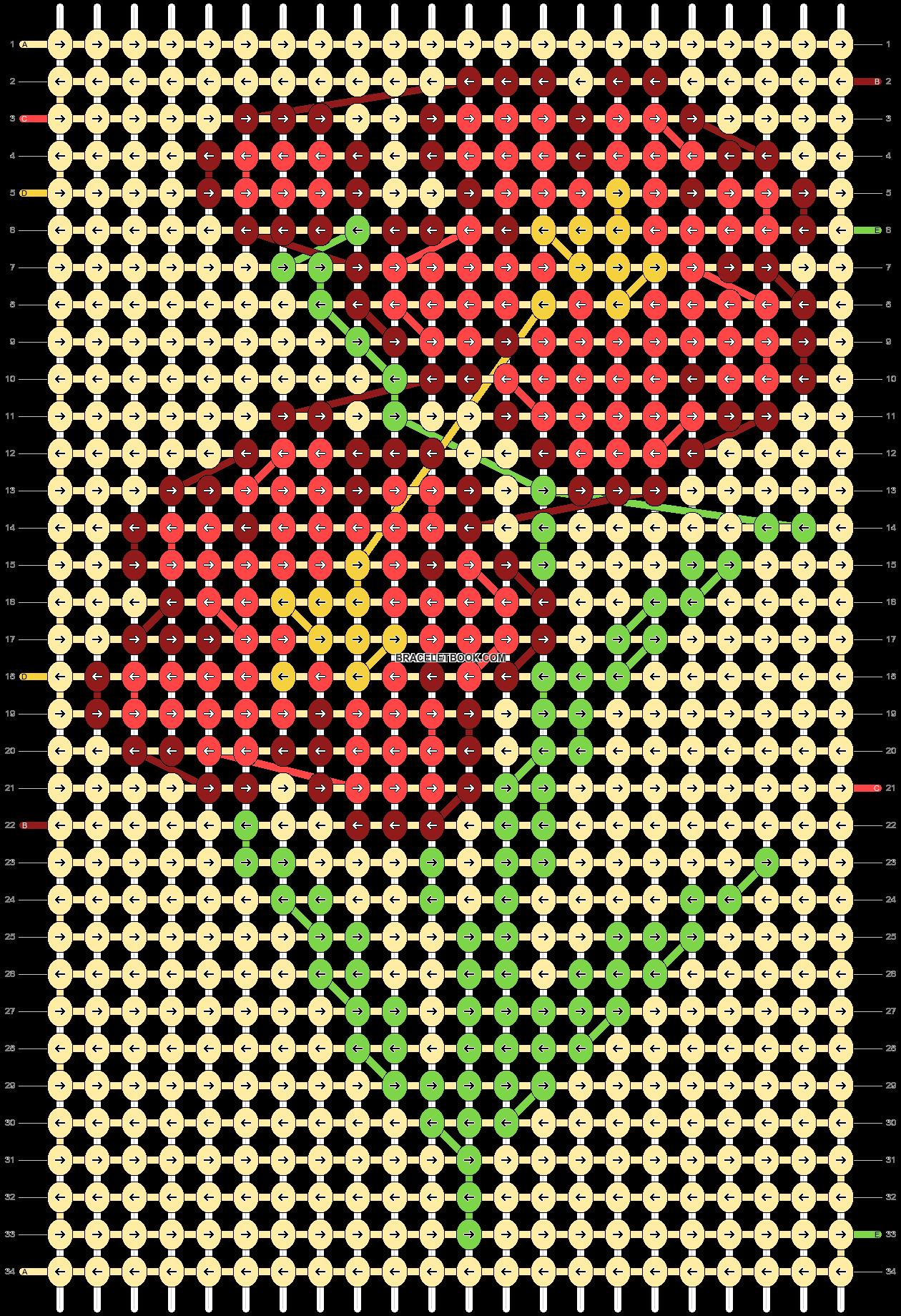 Alpha pattern #87837 pattern