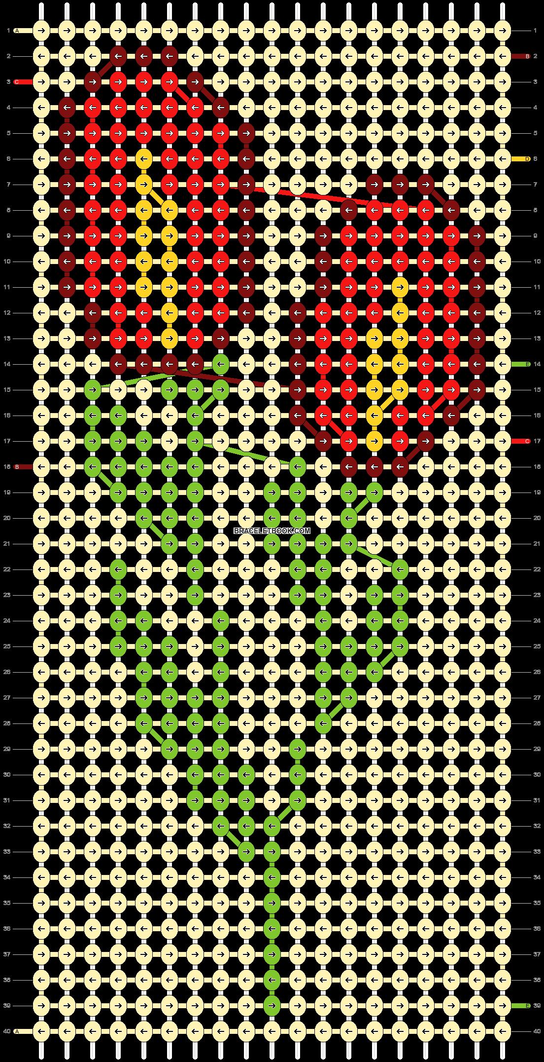 Alpha pattern #87839 pattern