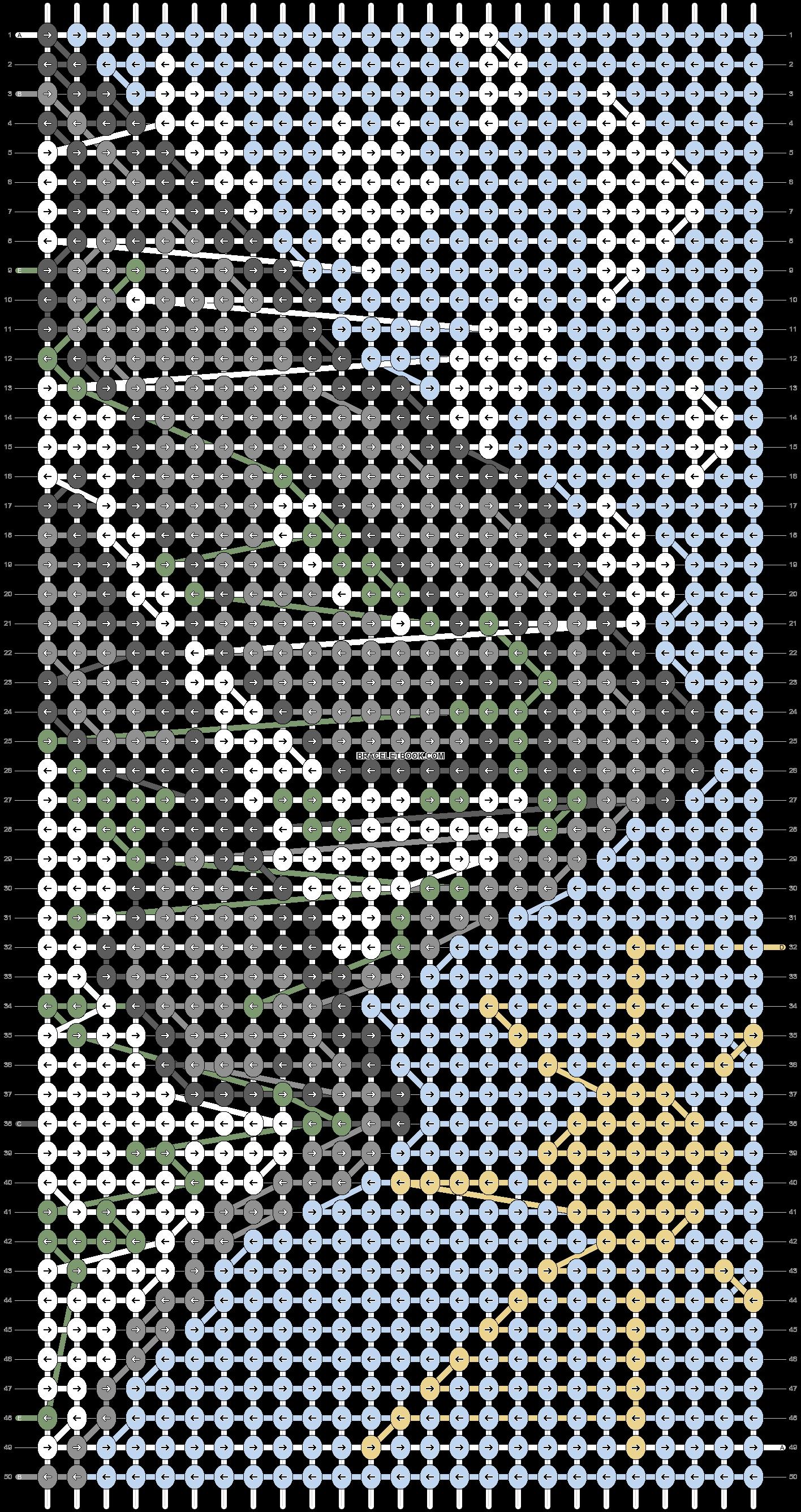 Alpha pattern #87864 pattern