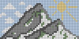 Alpha pattern #87864