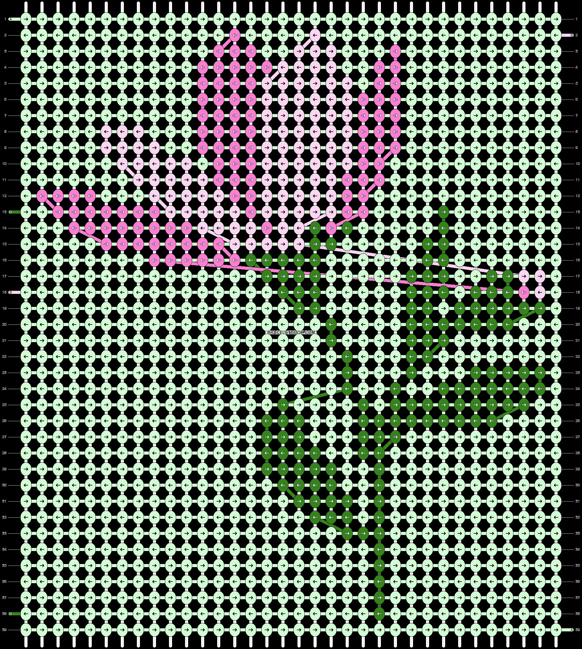 Alpha pattern #87868 pattern