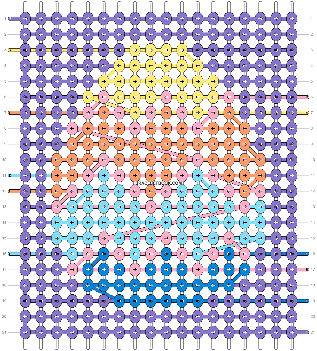Alpha pattern #87882 pattern