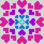 Alpha pattern #87885