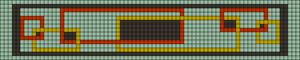 Alpha pattern #87886