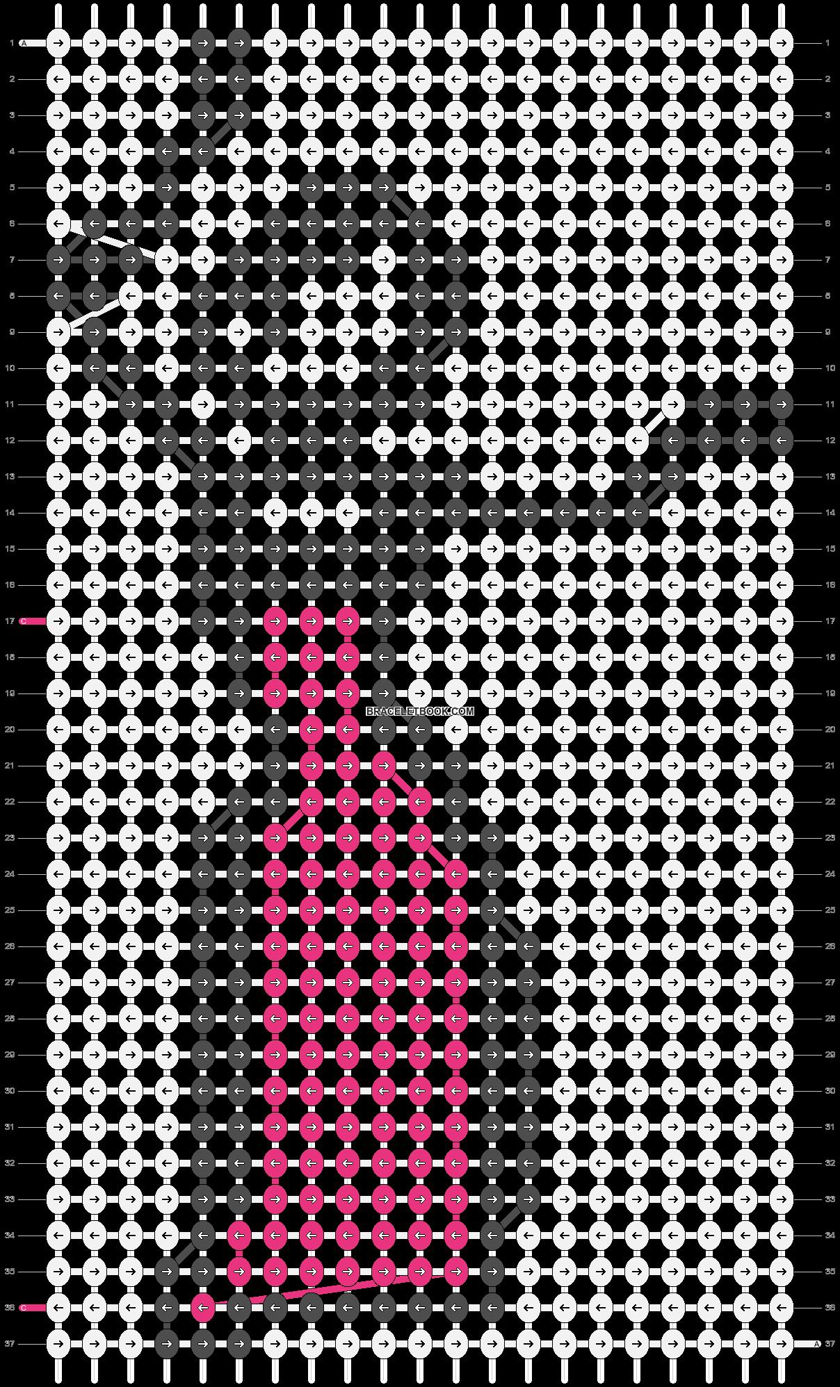 Alpha pattern #87898 pattern