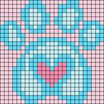 Alpha pattern #87900