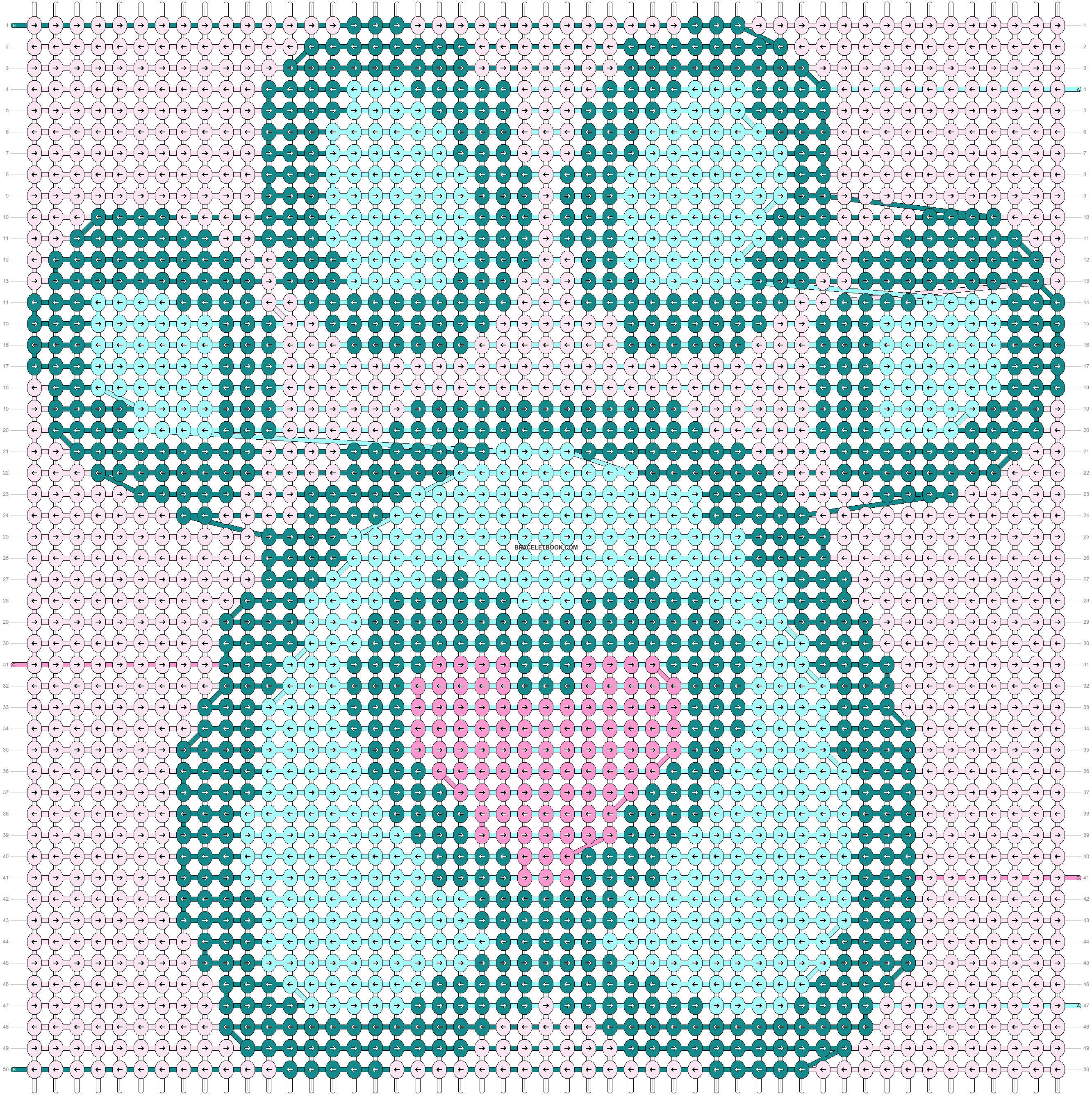 Alpha pattern #87901 pattern