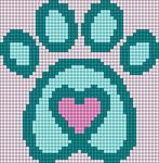 Alpha pattern #87901