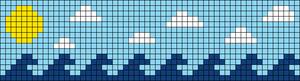 Alpha pattern #87926