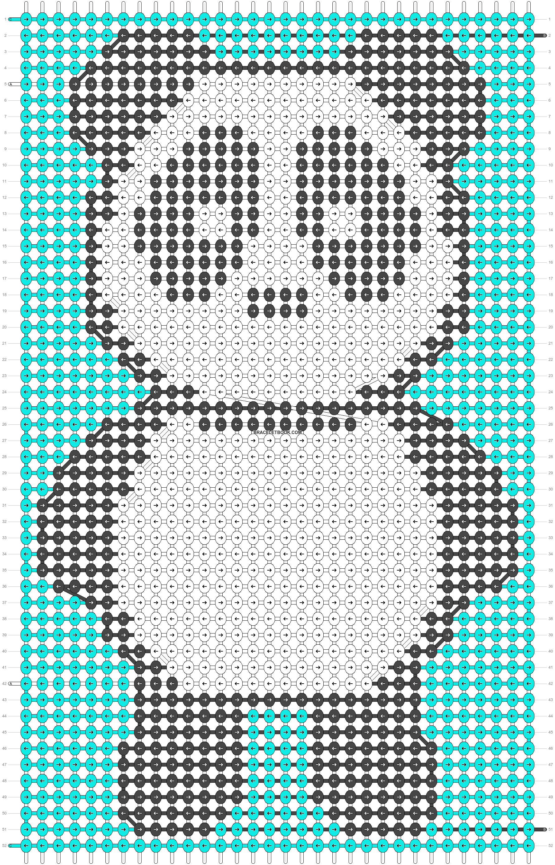 Alpha pattern #87944 pattern