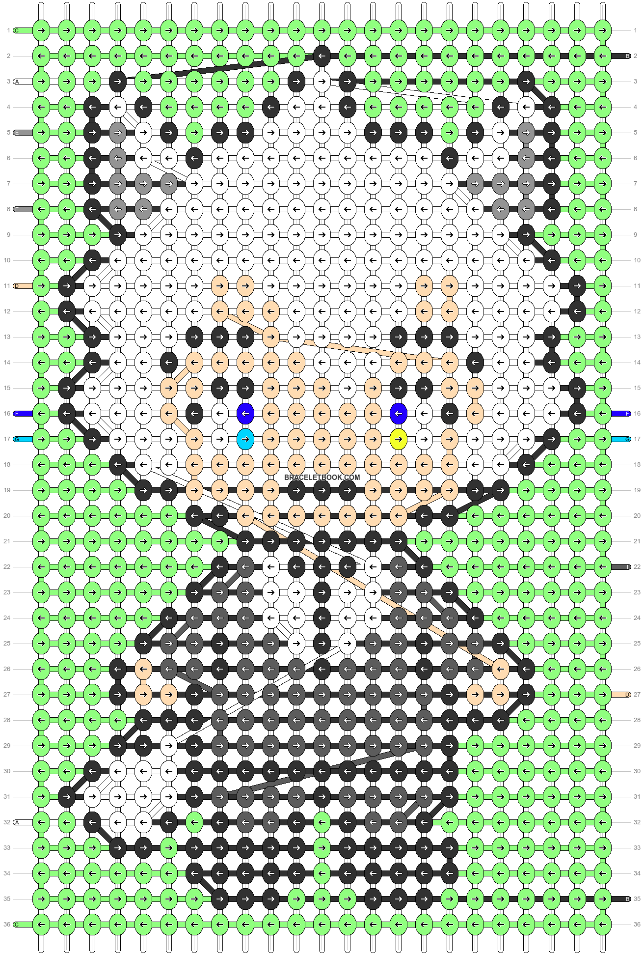 Alpha pattern #87948 pattern