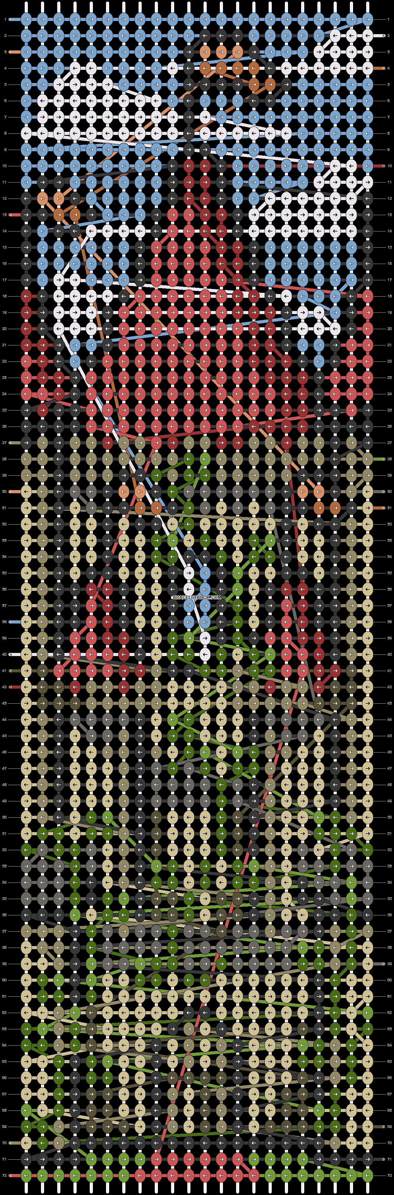 Alpha pattern #87950 pattern
