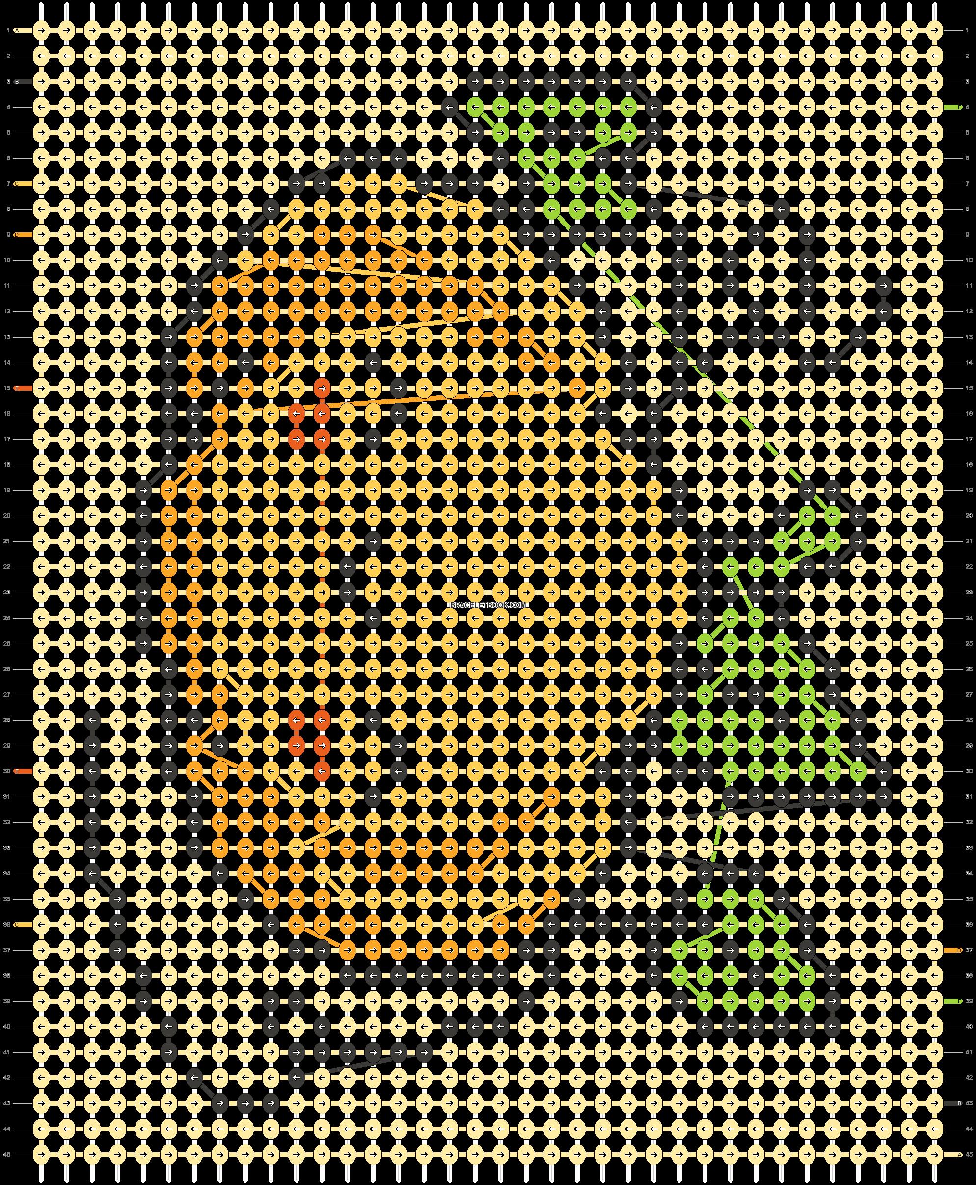 Alpha pattern #87978 pattern