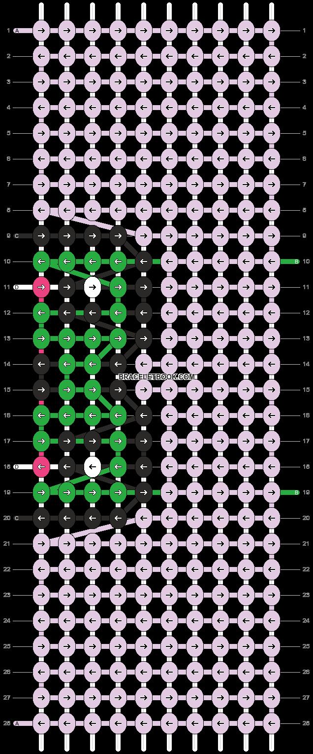 Alpha pattern #87989 pattern