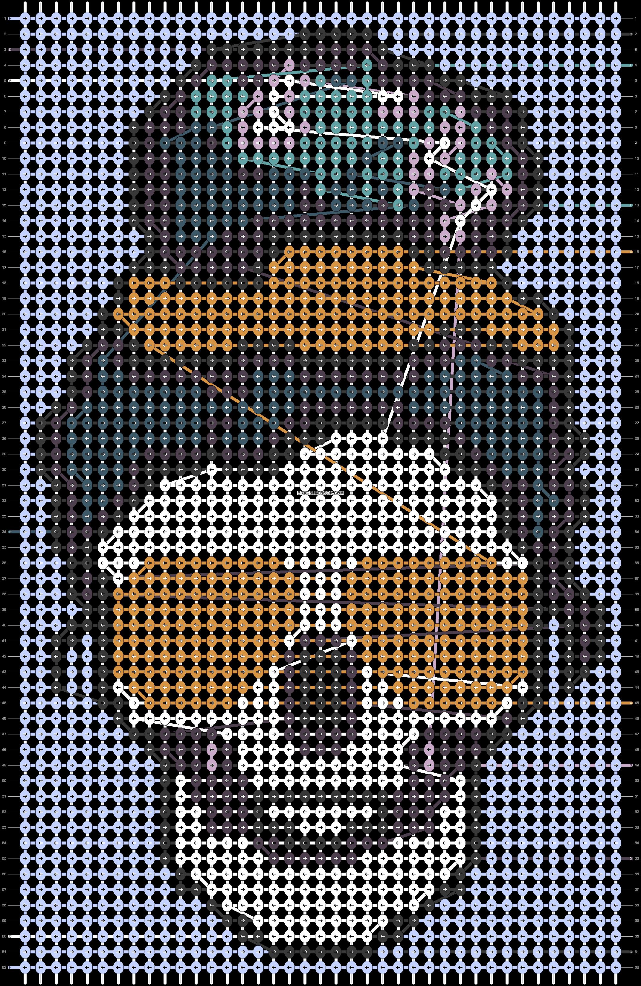 Alpha pattern #88007 pattern