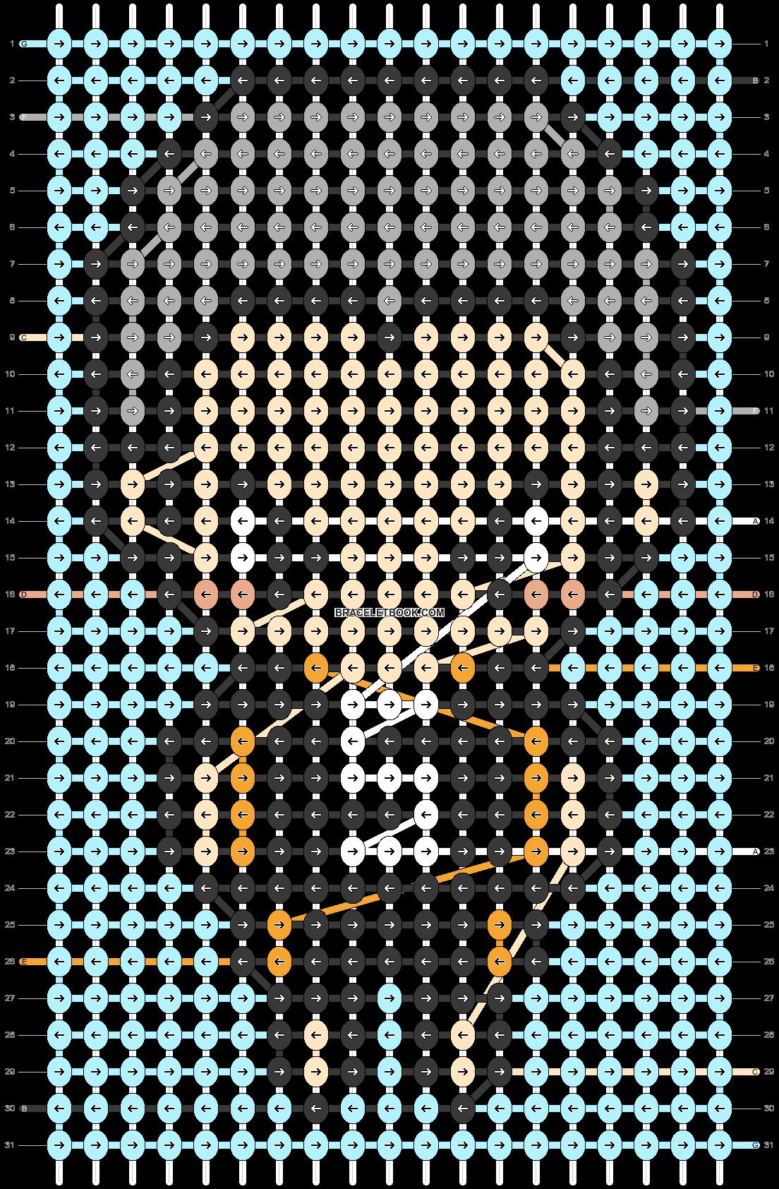 Alpha pattern #88023 pattern