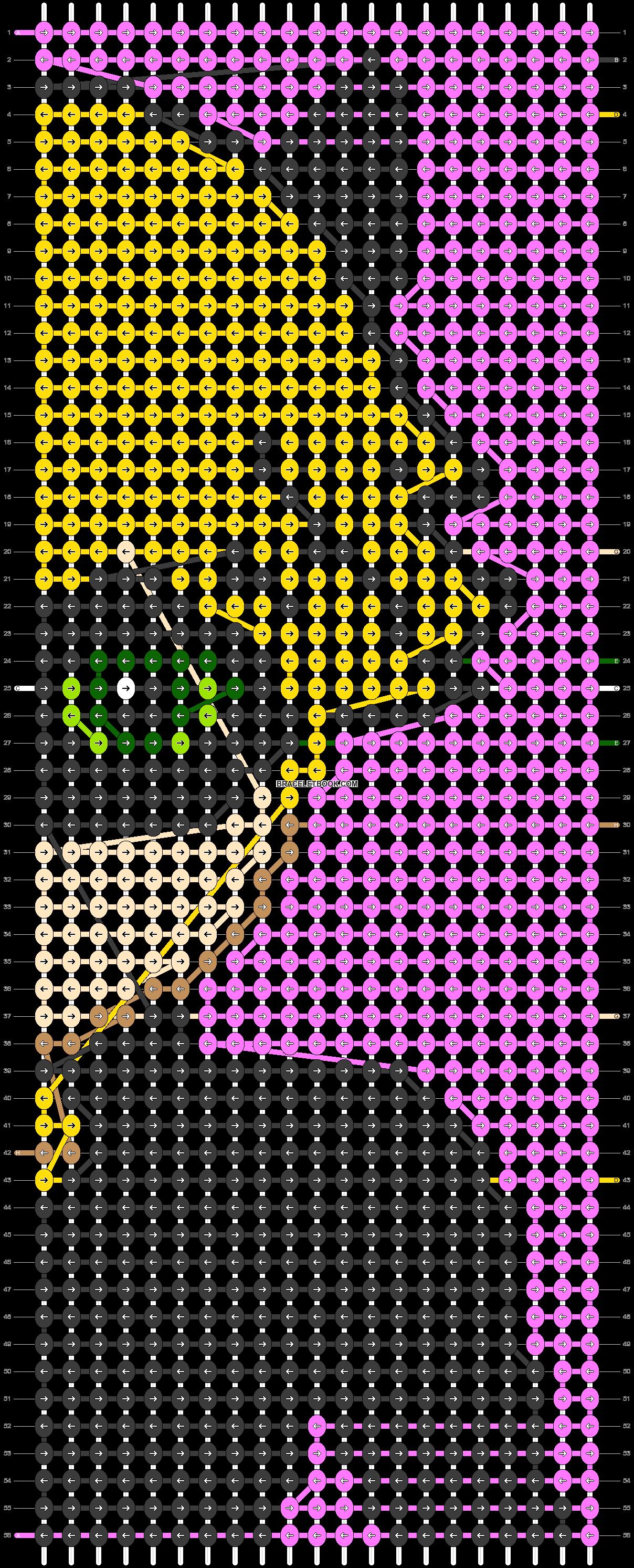 Alpha pattern #88024 pattern