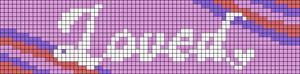 Alpha pattern #88030