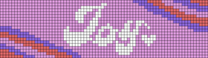 Alpha pattern #88035