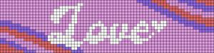 Alpha pattern #88036
