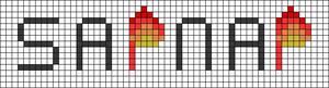Alpha pattern #88069