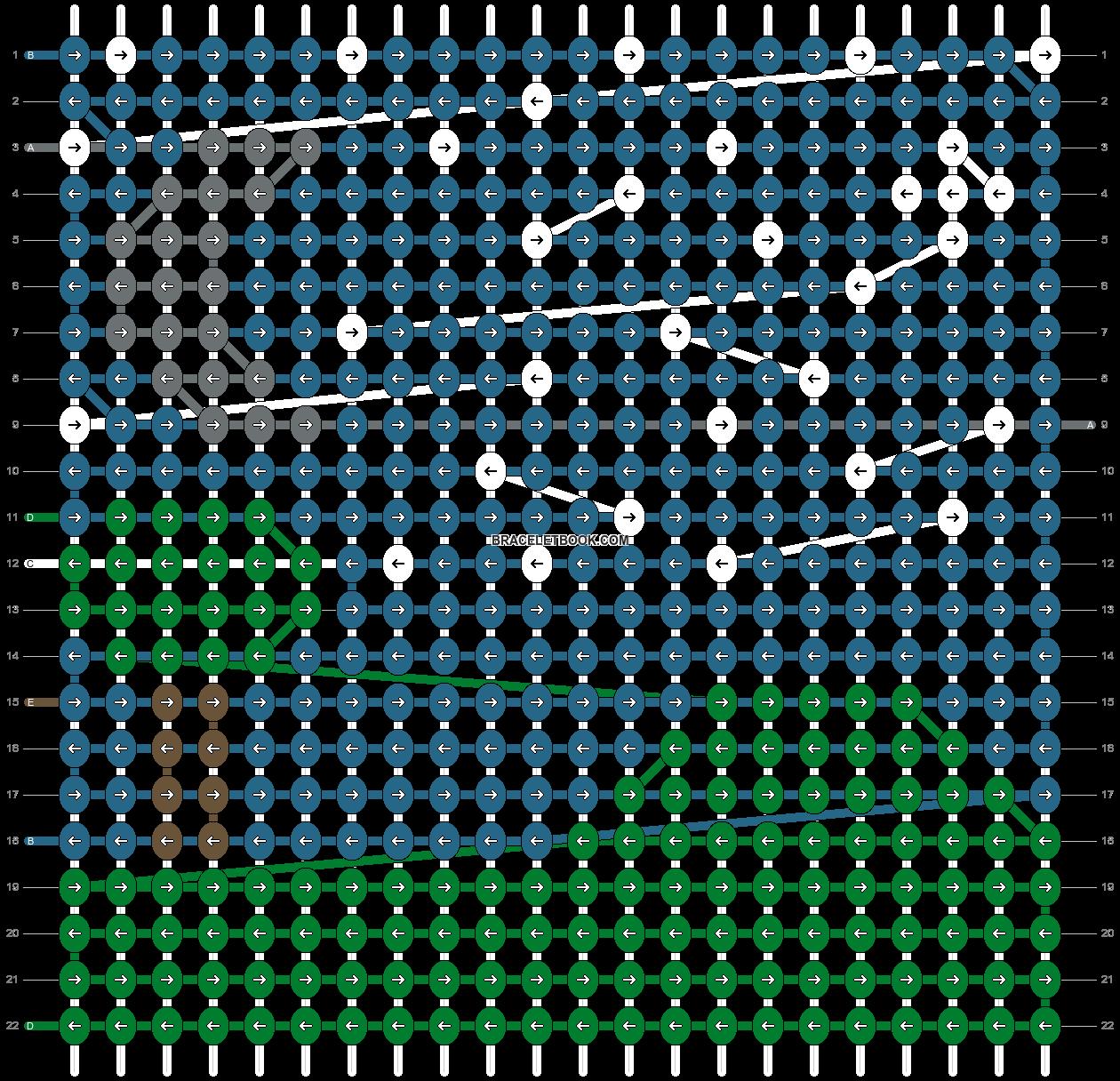 Alpha pattern #88071 pattern