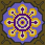 Alpha pattern #88078