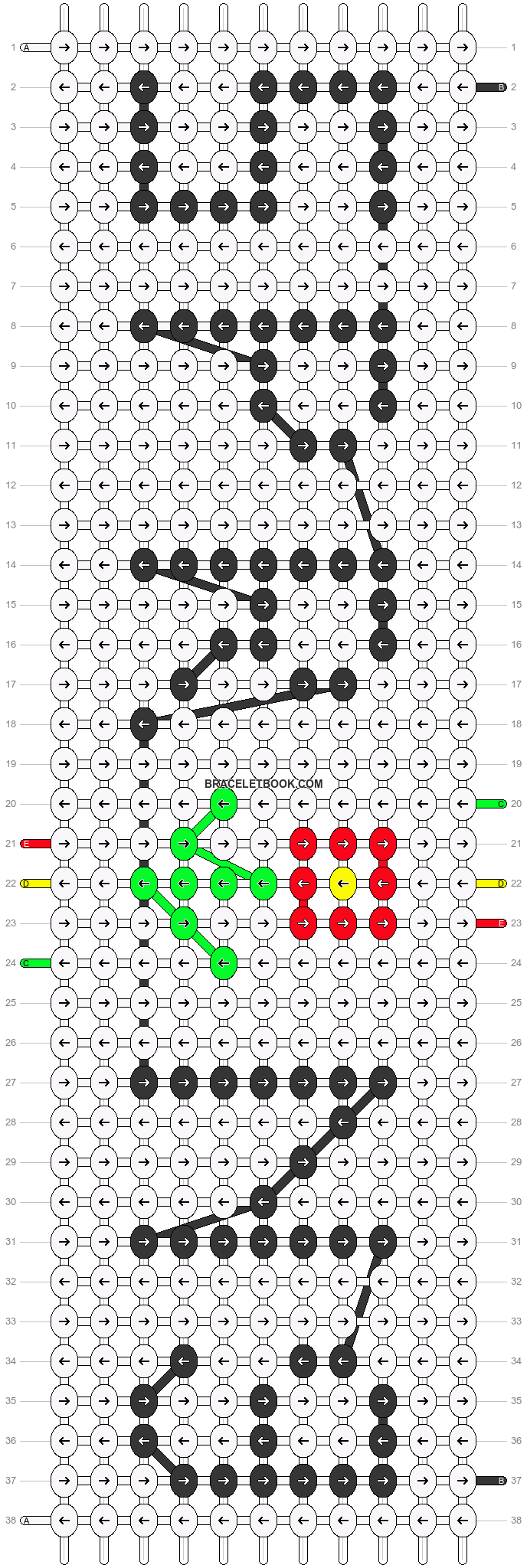 Alpha pattern #88082 pattern