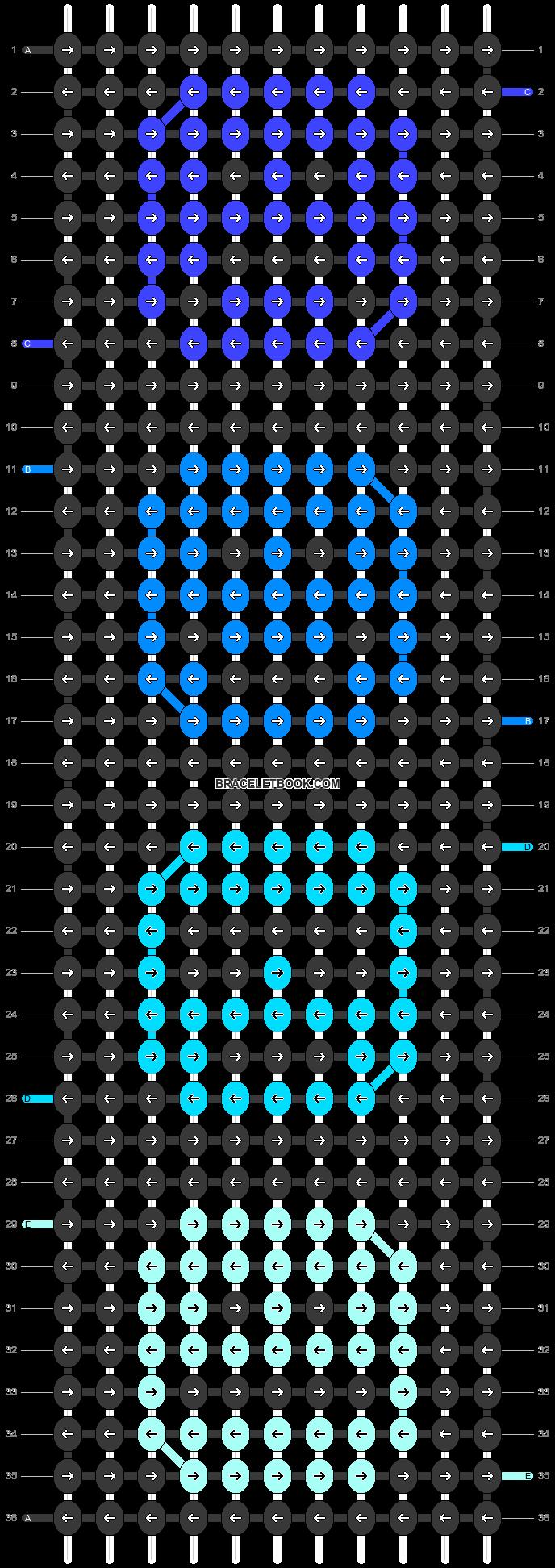 Alpha pattern #88095 pattern