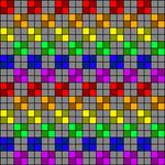 Alpha pattern #88138