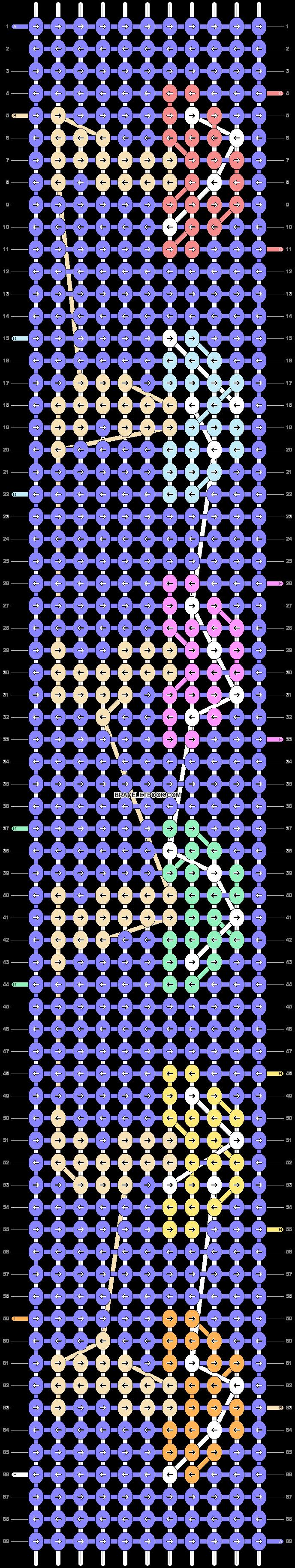 Alpha pattern #88160 pattern