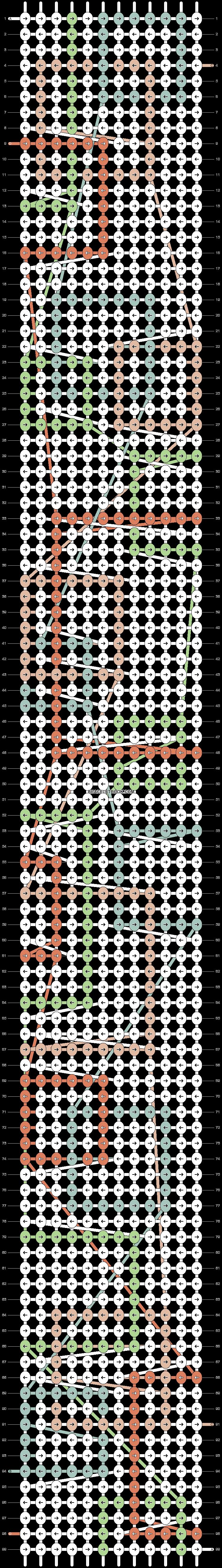 Alpha pattern #88181 pattern