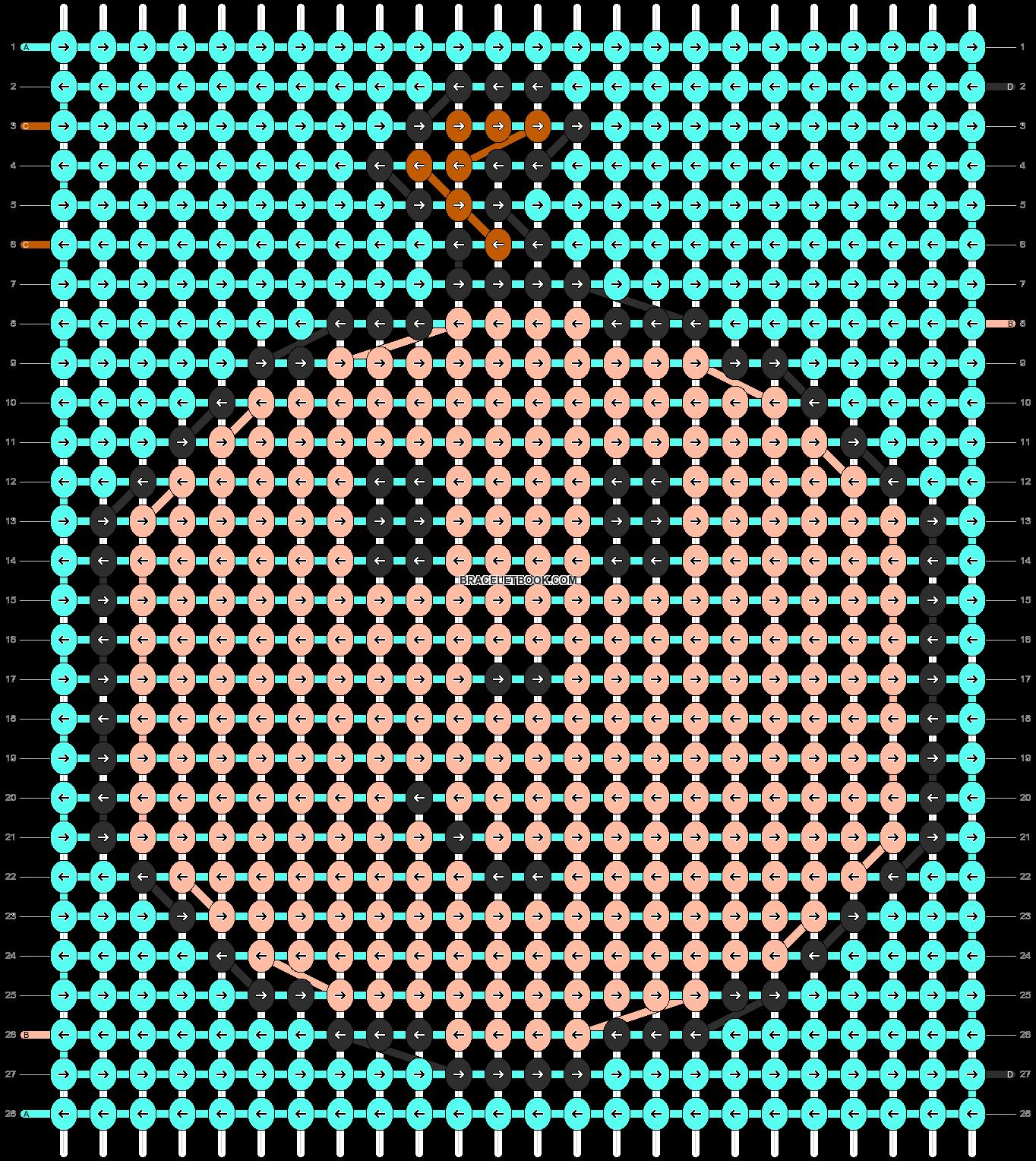 Alpha pattern #88186 pattern
