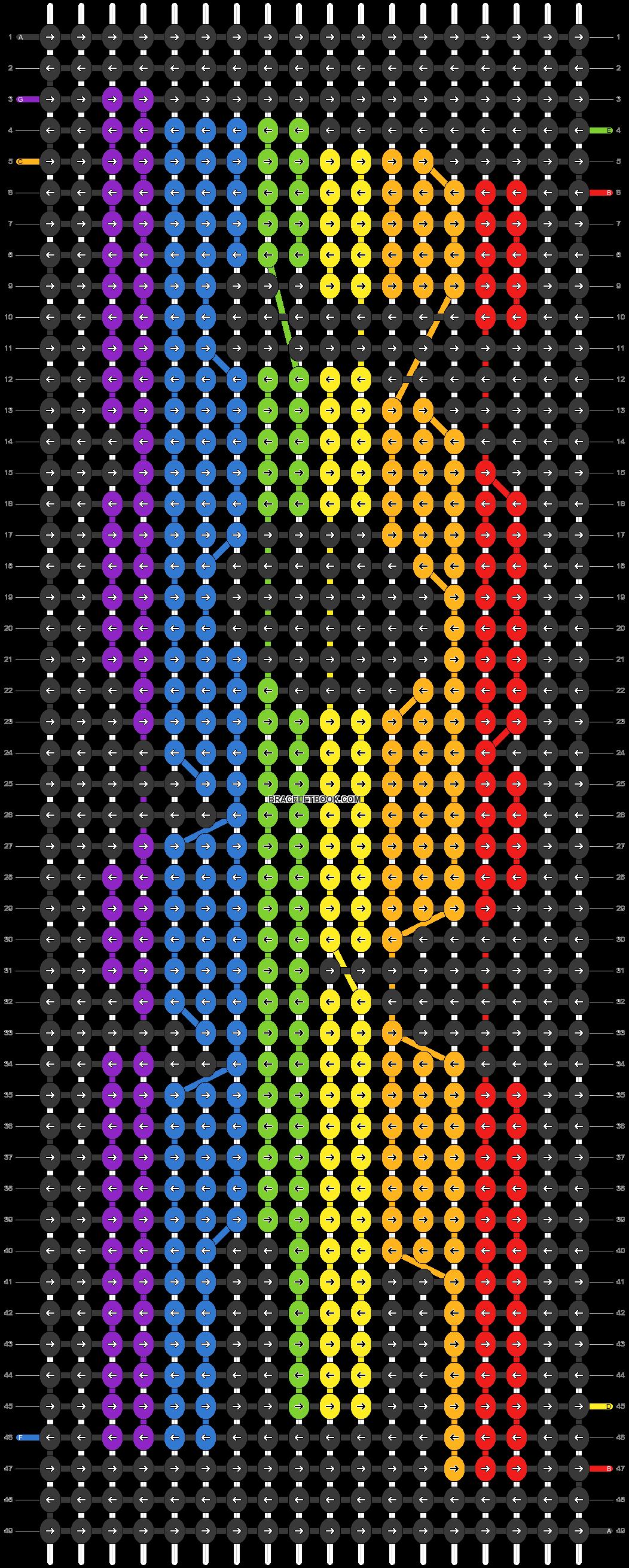 Alpha pattern #88244 pattern