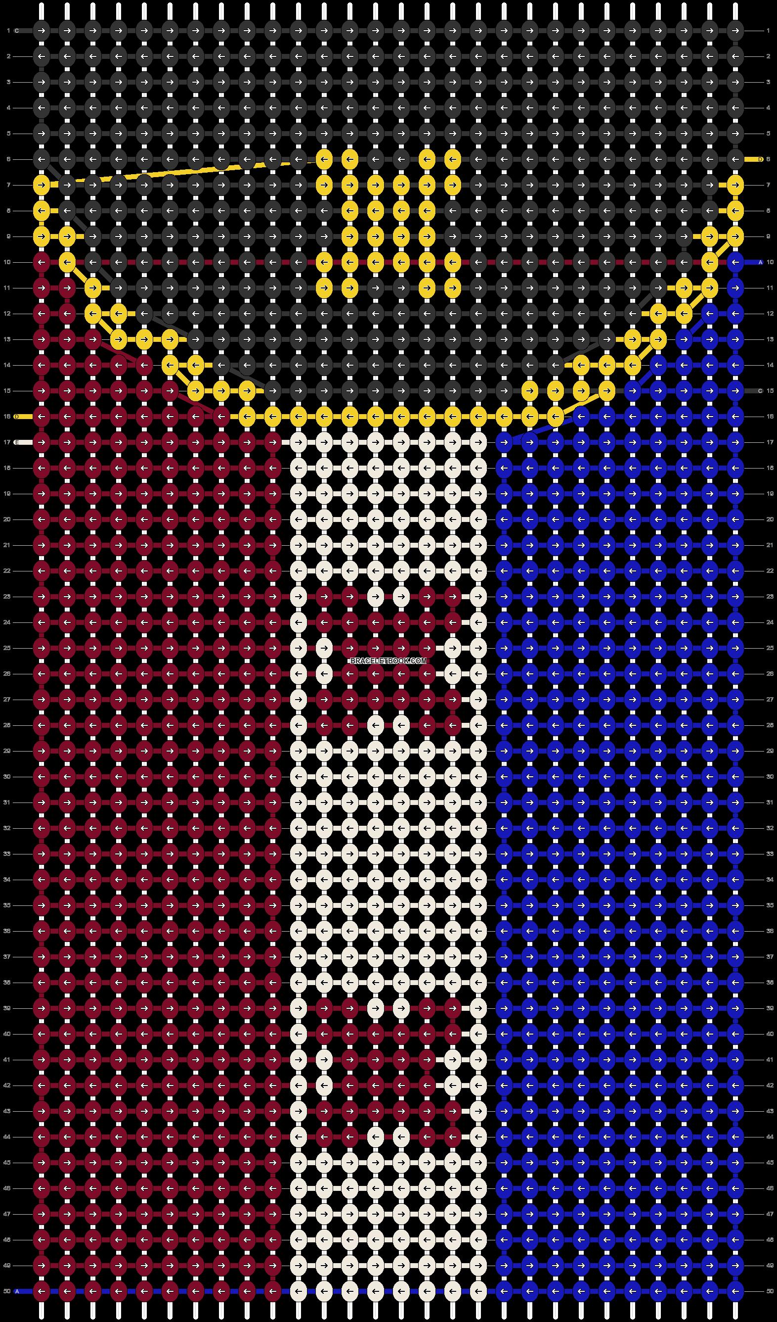 Alpha pattern #88270 pattern