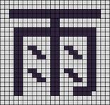 Alpha pattern #88280