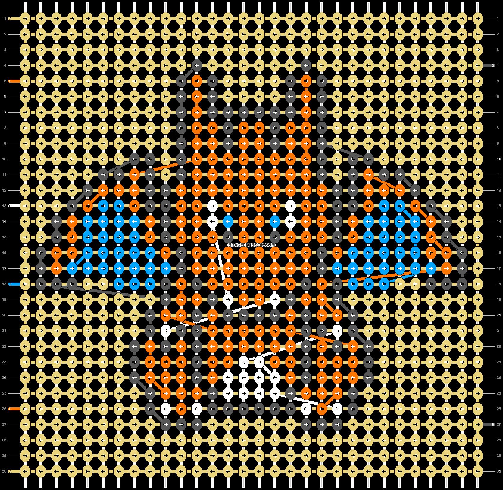 Alpha pattern #88288 pattern