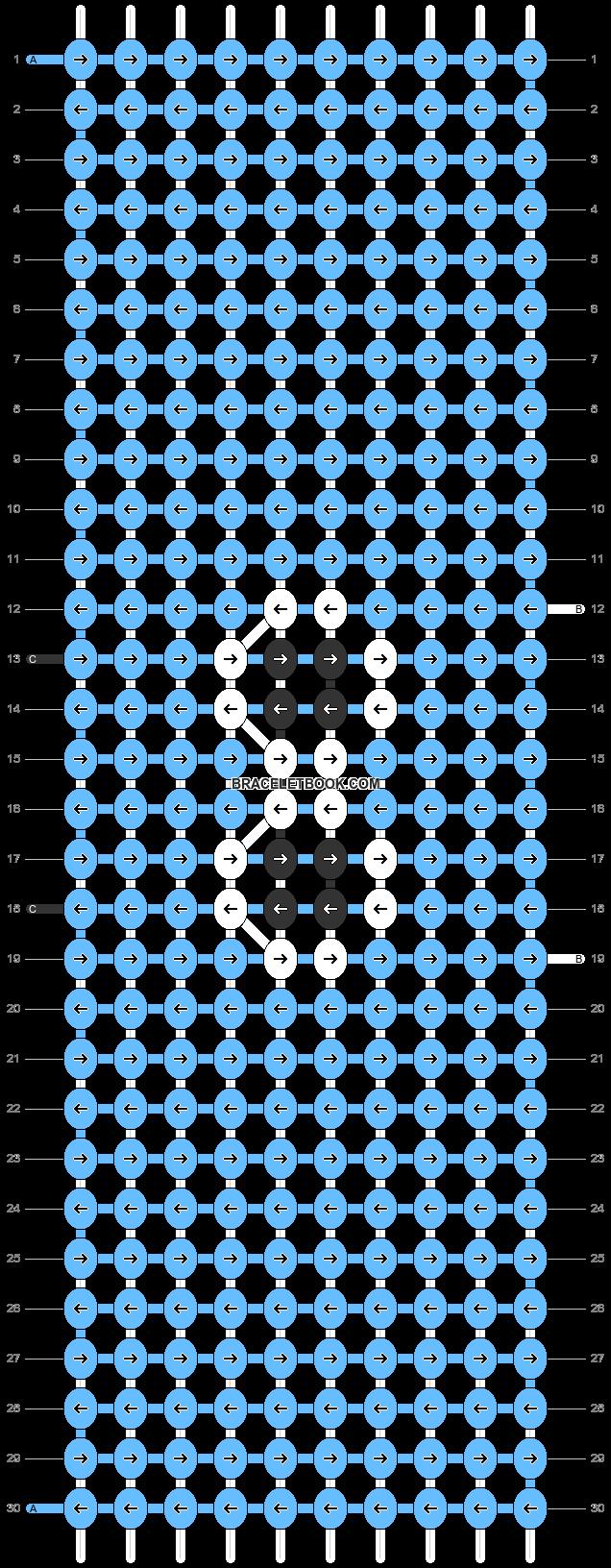 Alpha pattern #88290 pattern