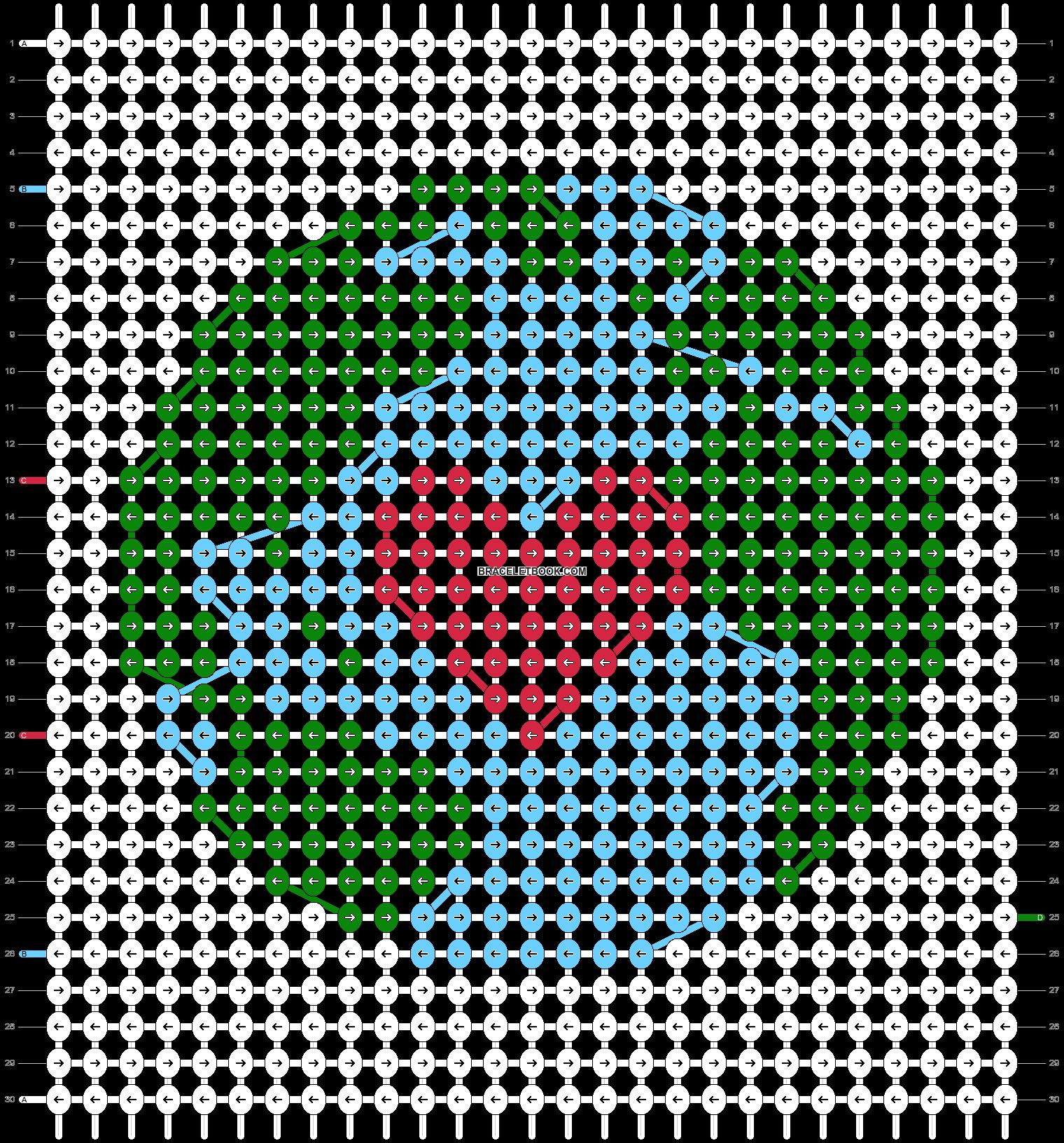 Alpha pattern #88309 pattern