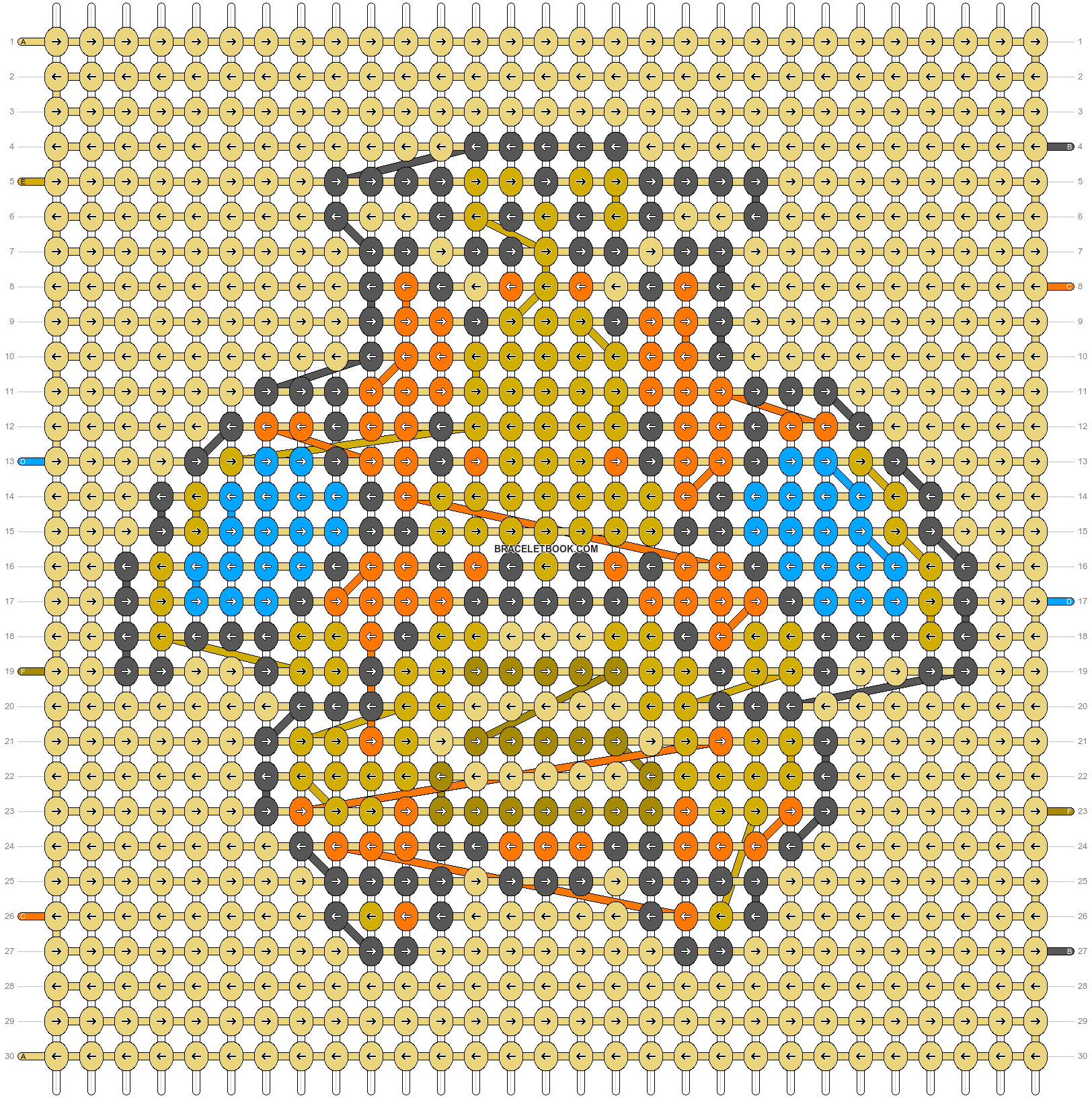 Alpha pattern #88347 pattern