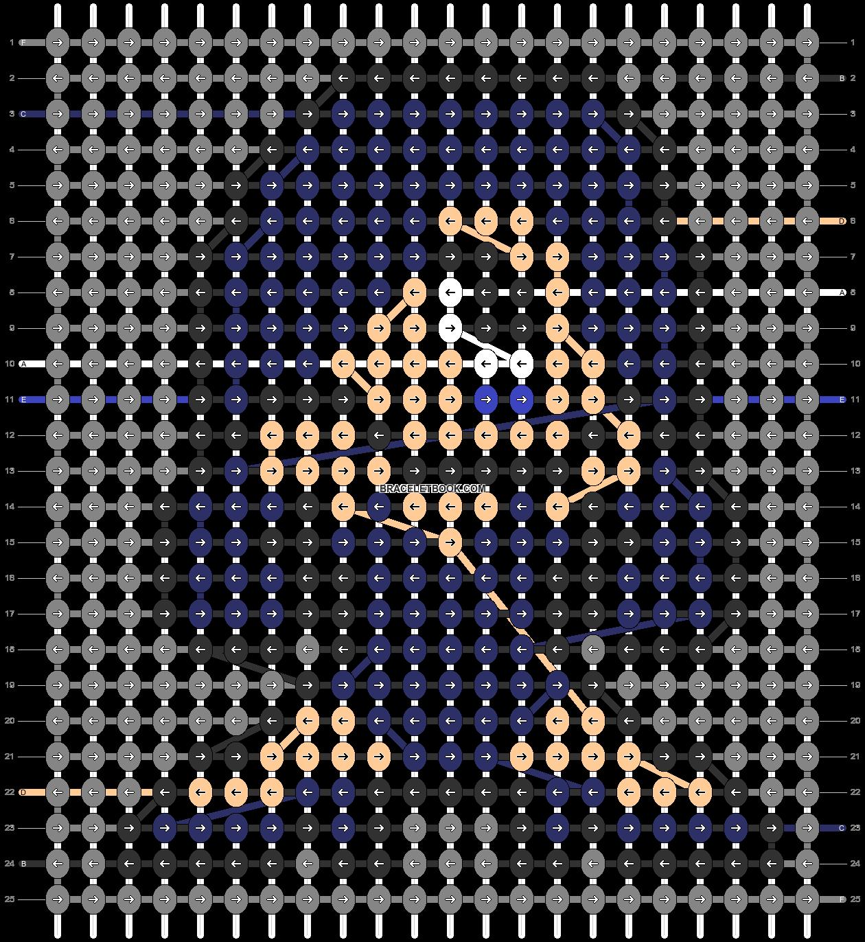 Alpha pattern #88381 pattern
