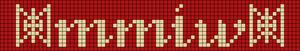 Alpha pattern #88460