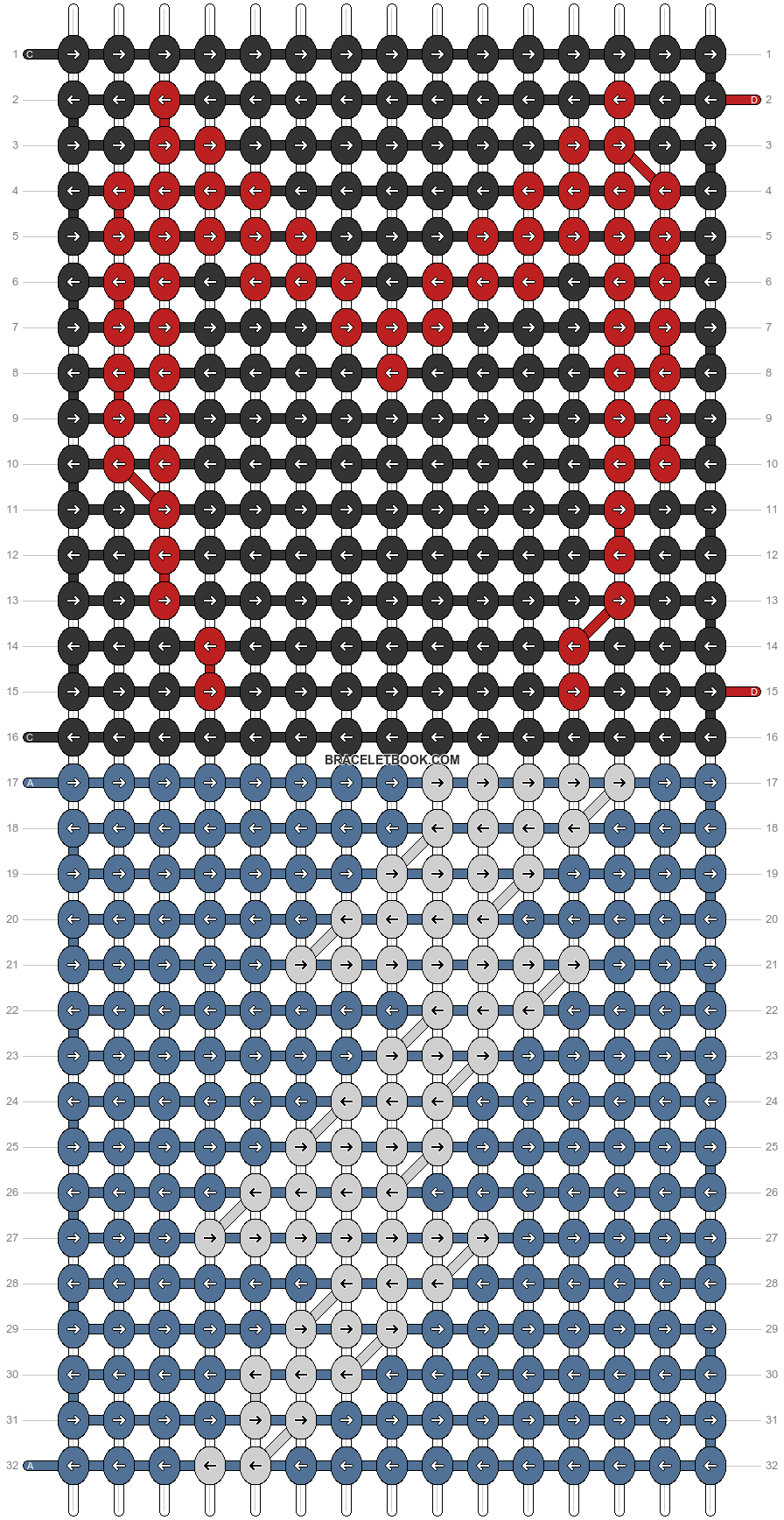 Alpha pattern #88463 pattern
