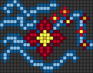 Alpha pattern #88477