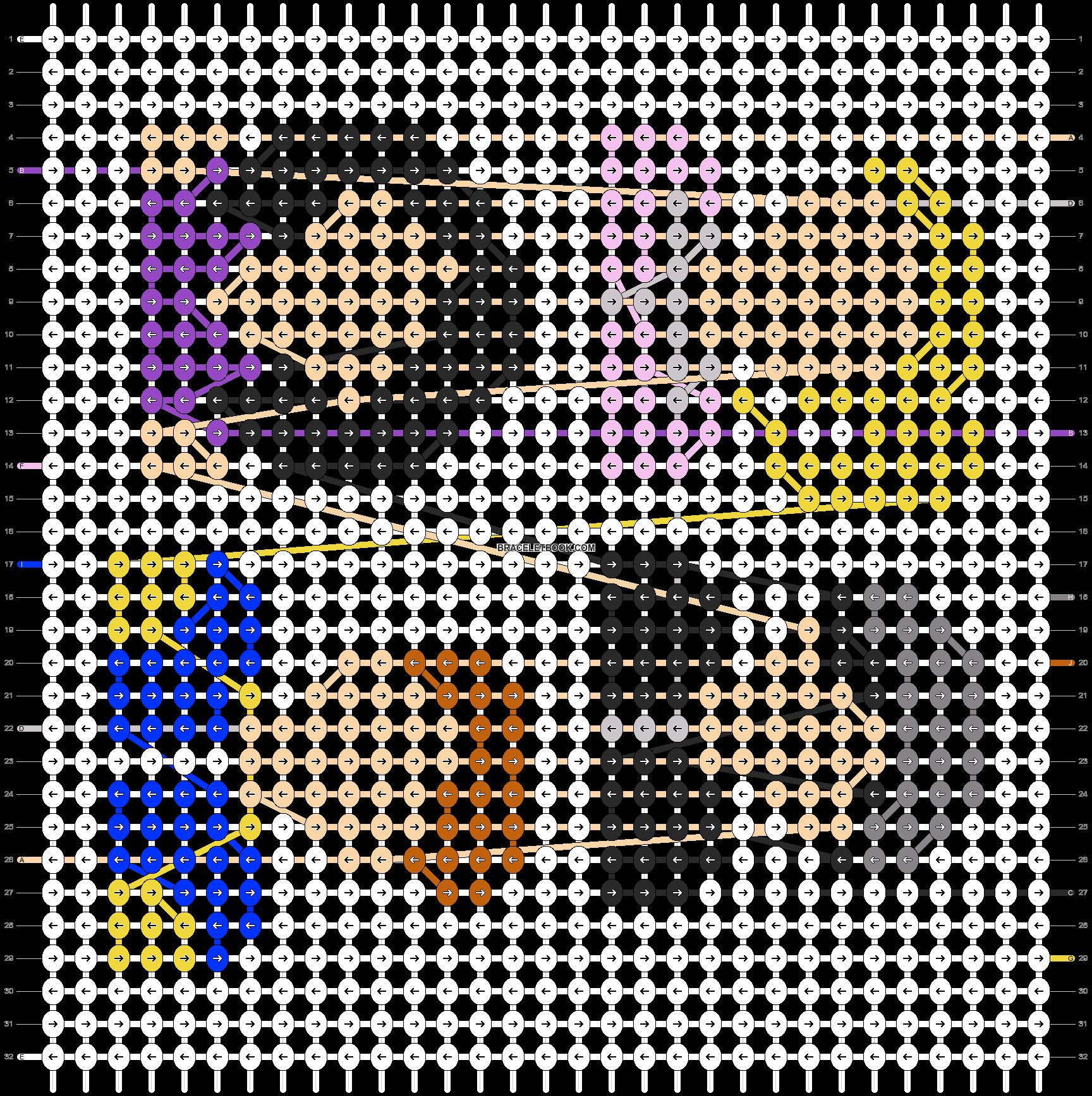 Alpha pattern #88537 pattern